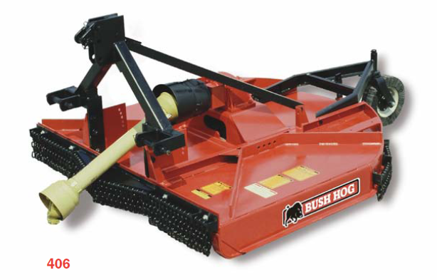 Bush Hog Batwing Mowers